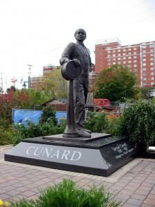 'Home At Last' - 10' bronze statue ofHaligonian Samuel Cunard.